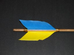 Blue and Gold Arrows
